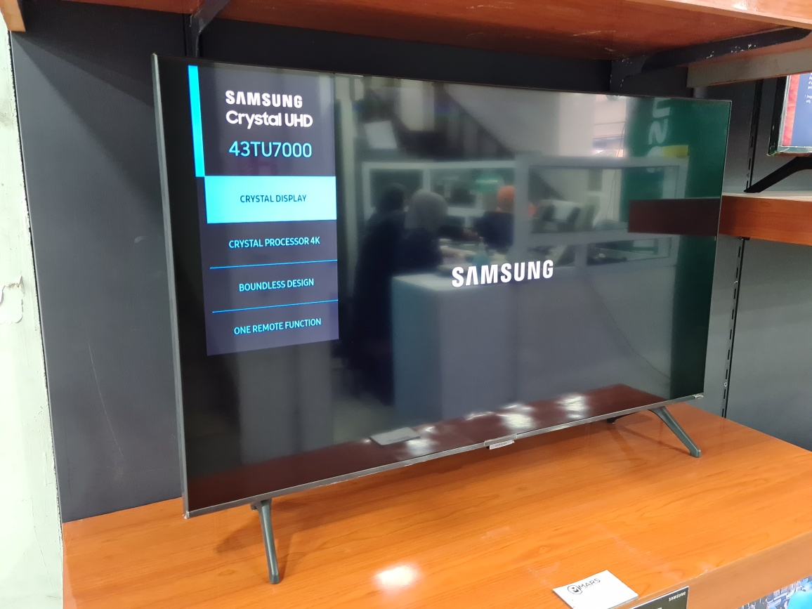 Samsung 43 Inch Smart Crystal UHD 4K TV
