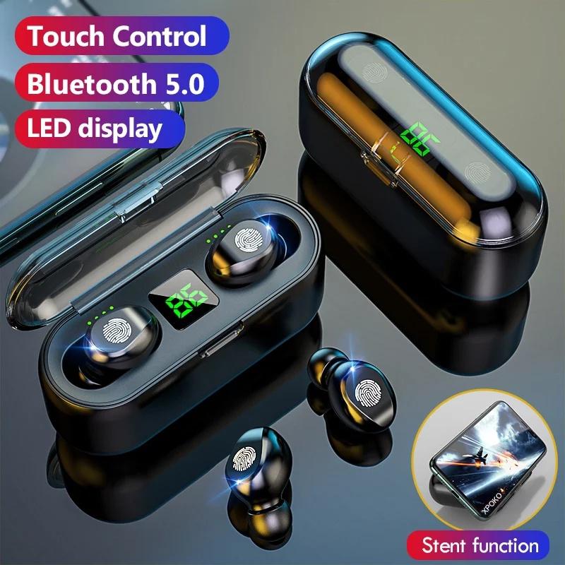 F9 Bluetooth Earphone