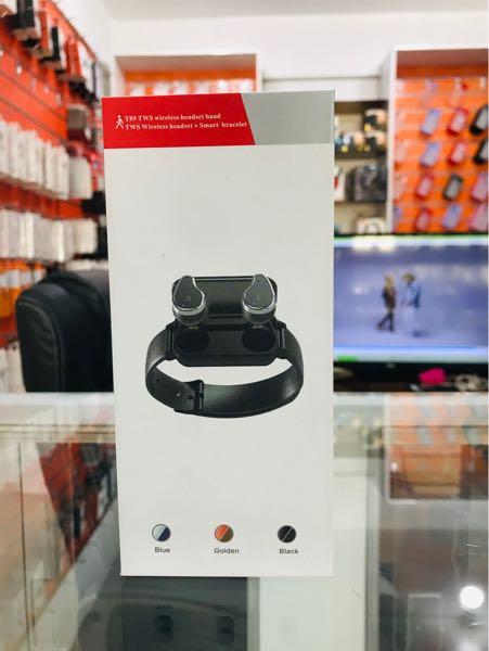Wireless Headset + Smart bracelet