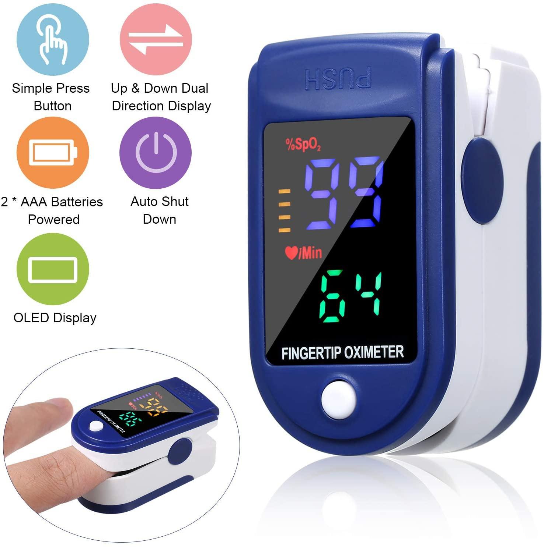 Original Blood Oxygen Monitor Finger Pulse Oximeter