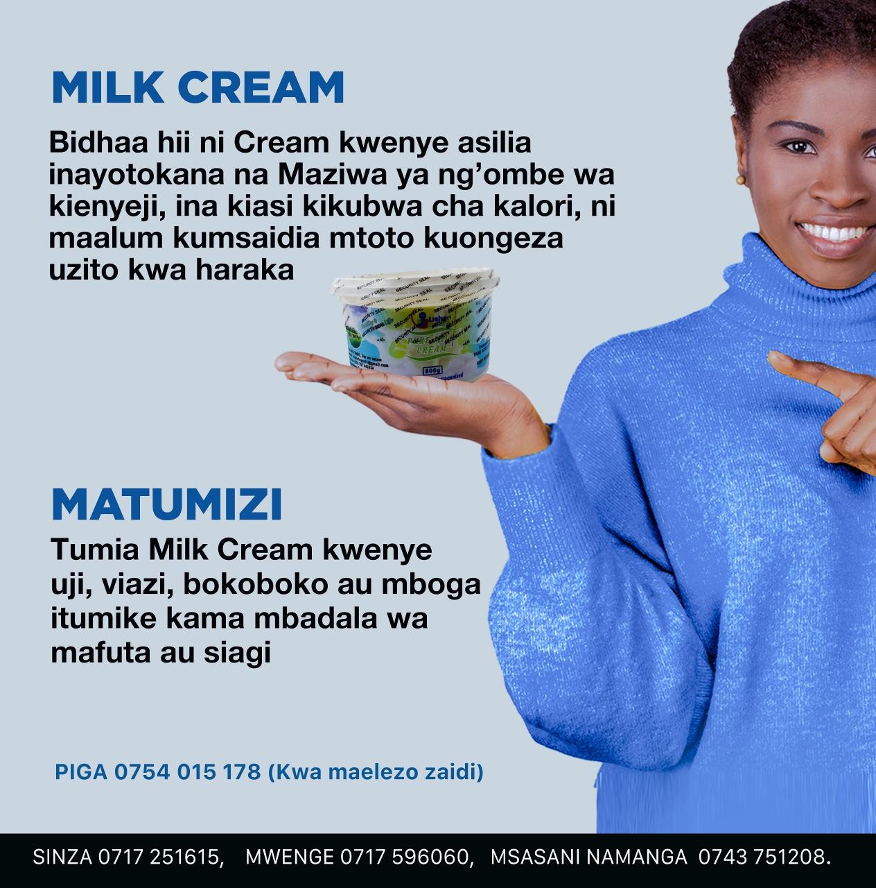 pure milk cream