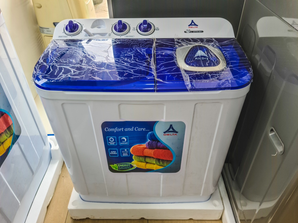 Delta Washing machine Twin Tub 7KG DTTK-007