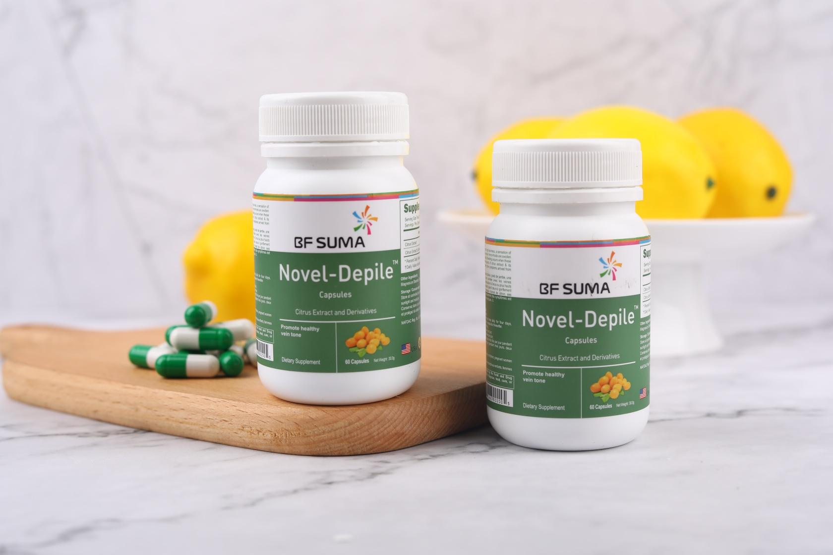 Nove Depile Capsules for haemmorroids